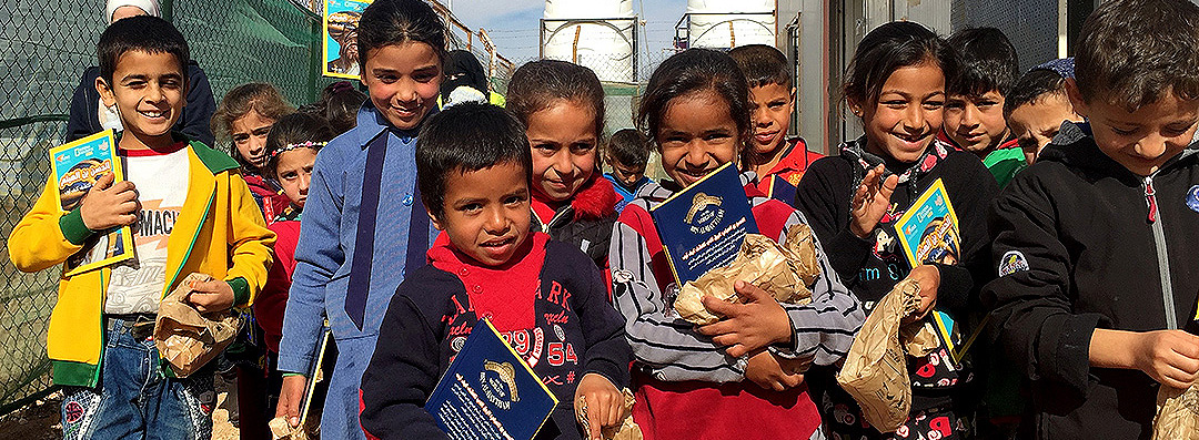 Stories, Light and Hope: 1001 Meals at Azraq Refugee Camp Schools