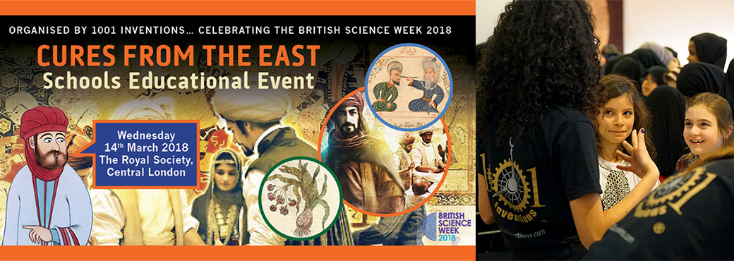 1001 Inventions Presents 'Cures from the East' Educational Event at the Royal Society