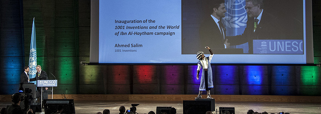 1001 Inventions and the World of Ibn Al-Haytham launches at UNESCO
