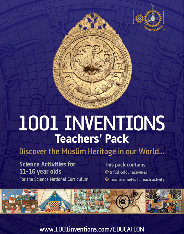 1001 Inventions Books | 1001 Inventions