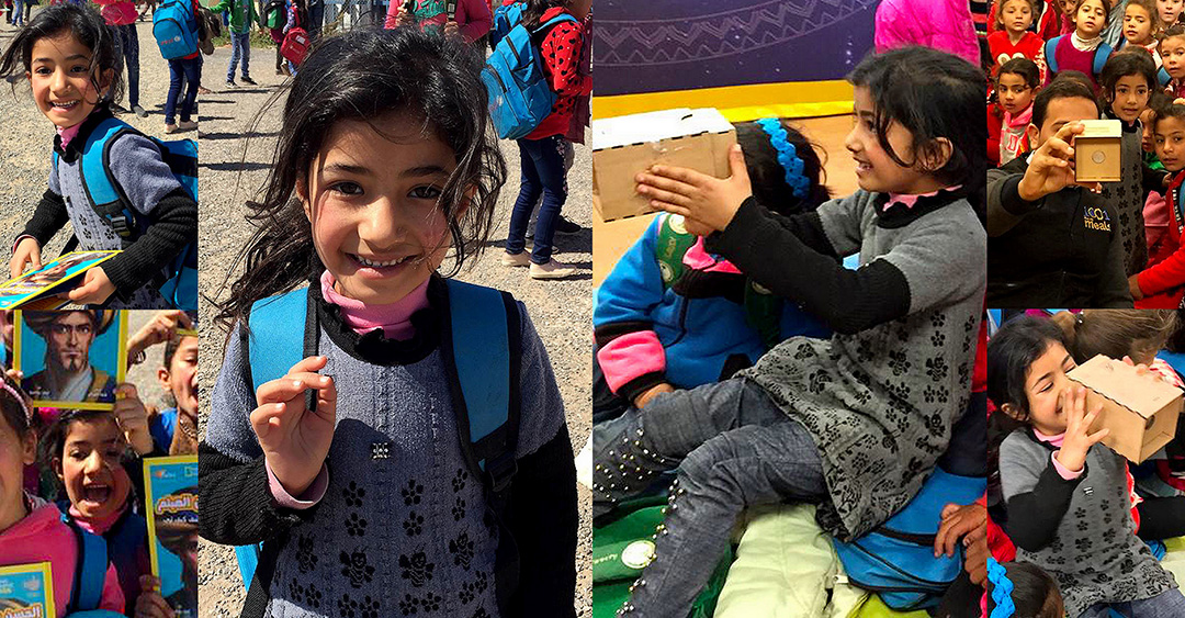 Meet Six-Year-Old Haneen and Join Her Journey with 1001