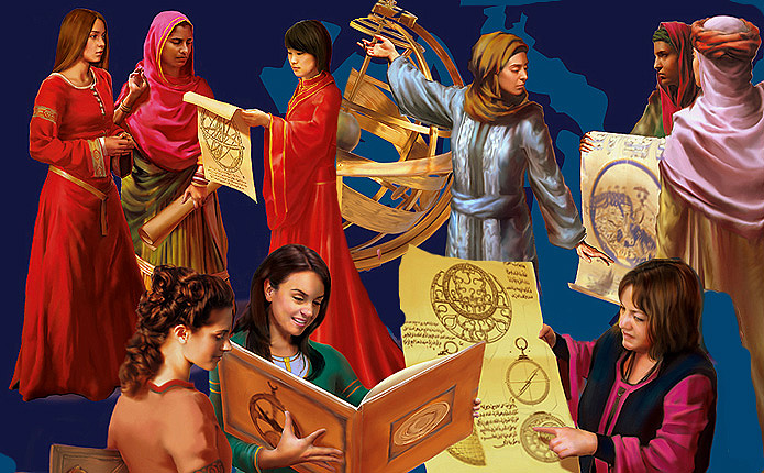 Extraordinary Women from the Golden Age of Muslim