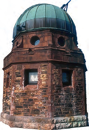 Many observatories were built in the Muslim world